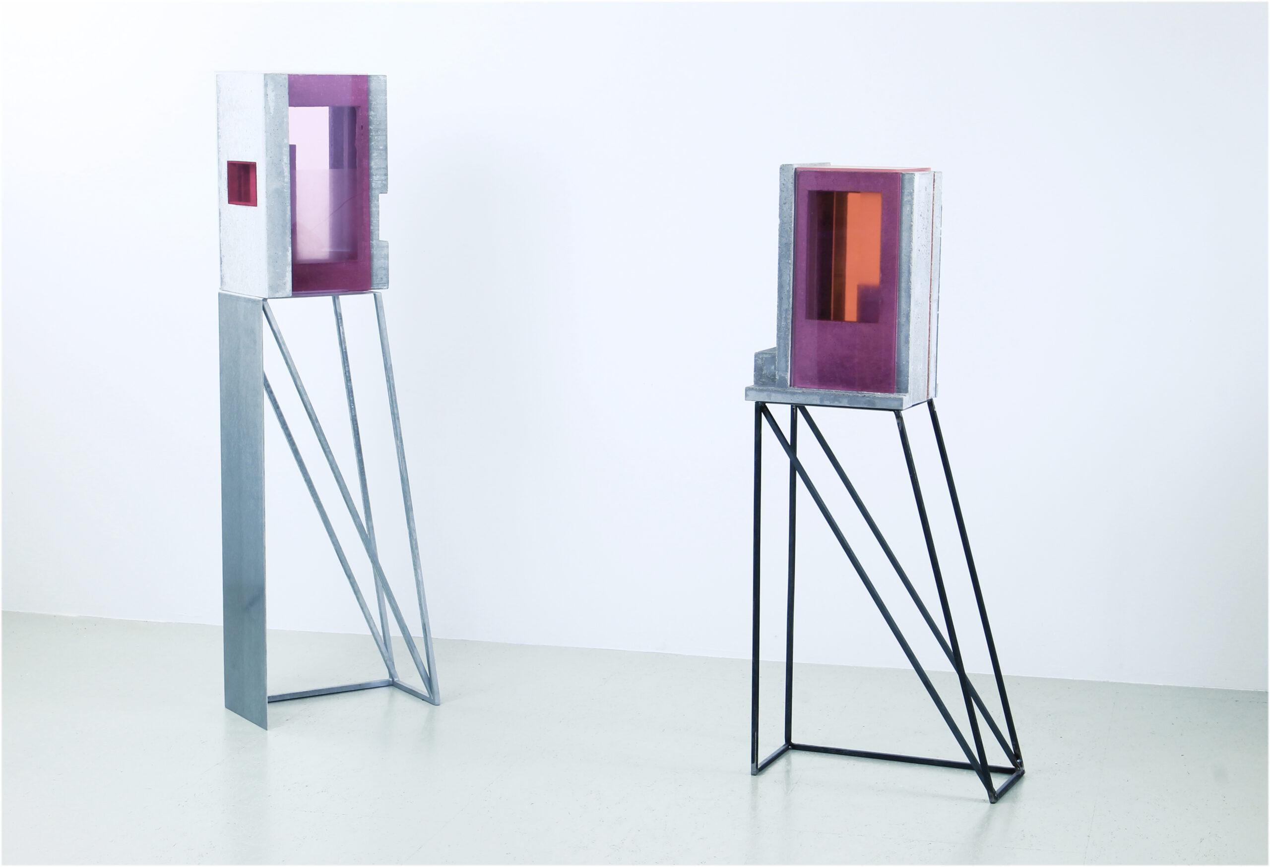 translucide  III+IV | 2020 | Beton, Acrylglas, Metall