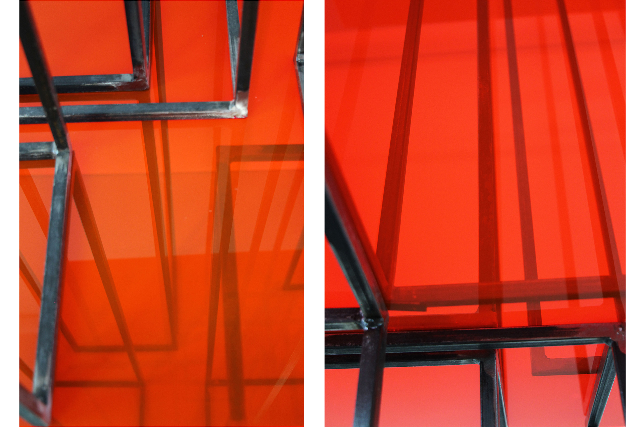 translucide  V |2021 | Beton, Acrylglas , Metall | 60 x 80 x 220 cm