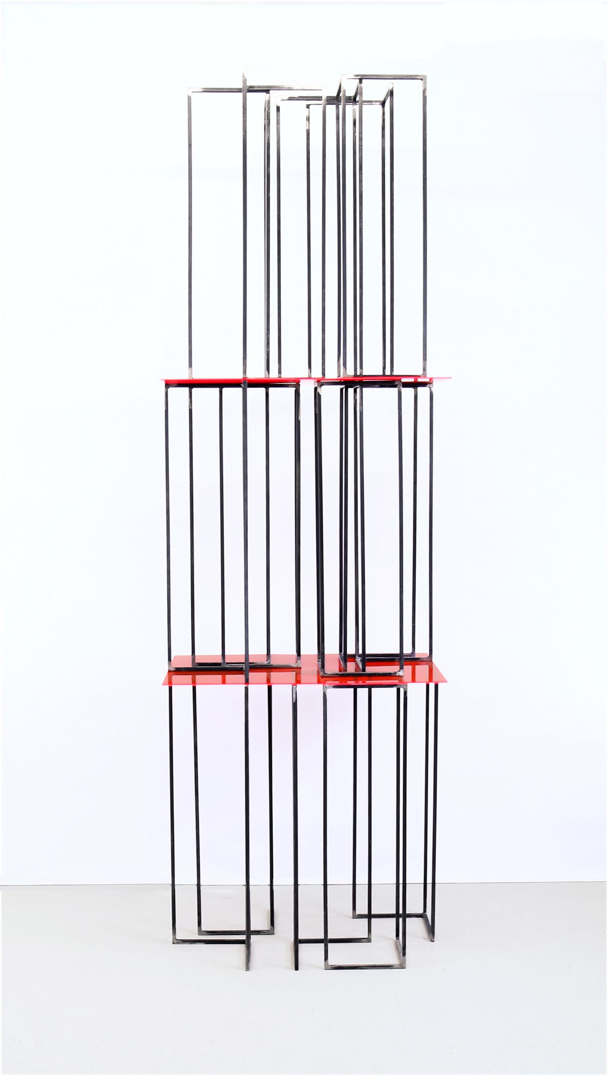 translucide  V | 2021 | Beton, Acrylglas , Metall | 60 x 80 x 220 cm