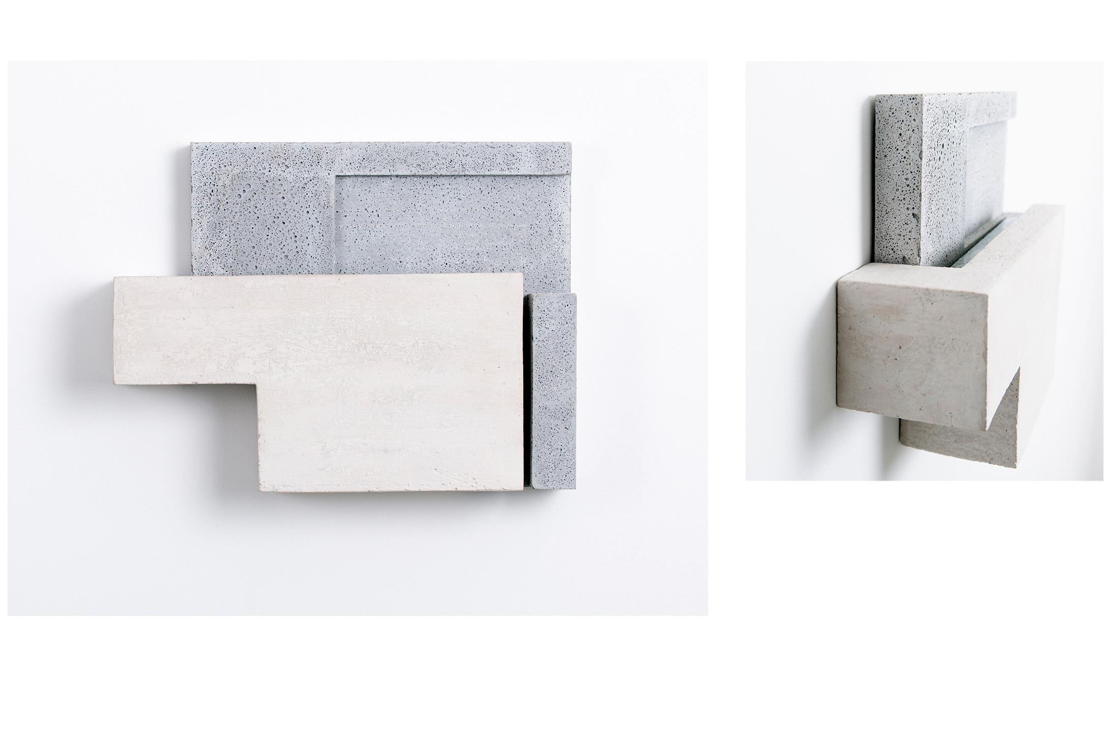 Addition VIII | 2015 | Steinzeug/Beton | 42 x 32 x 11 cm