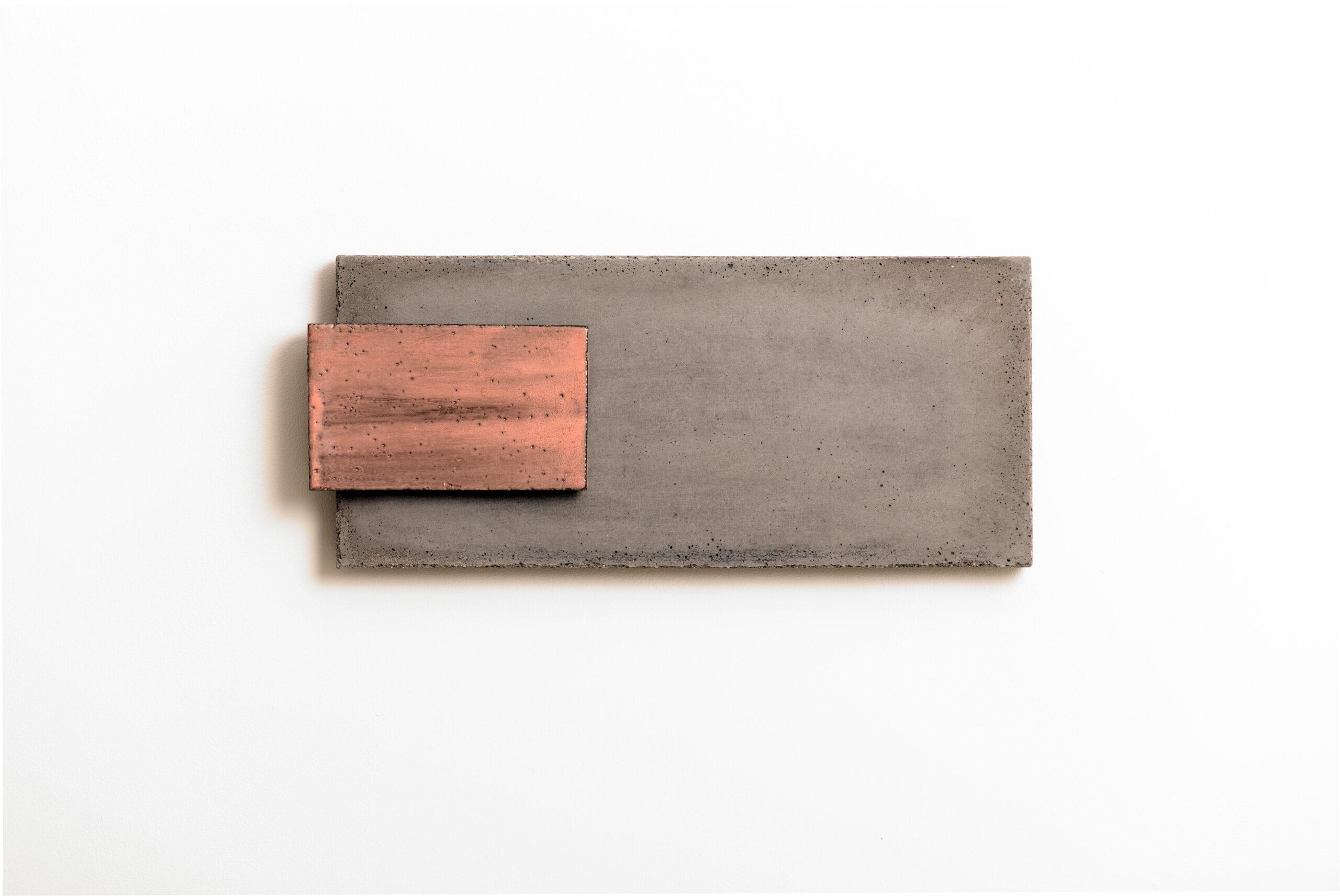 Addition VI | 2010 | Steinzeug/ Beton | 53 x 28 x 5 cm
