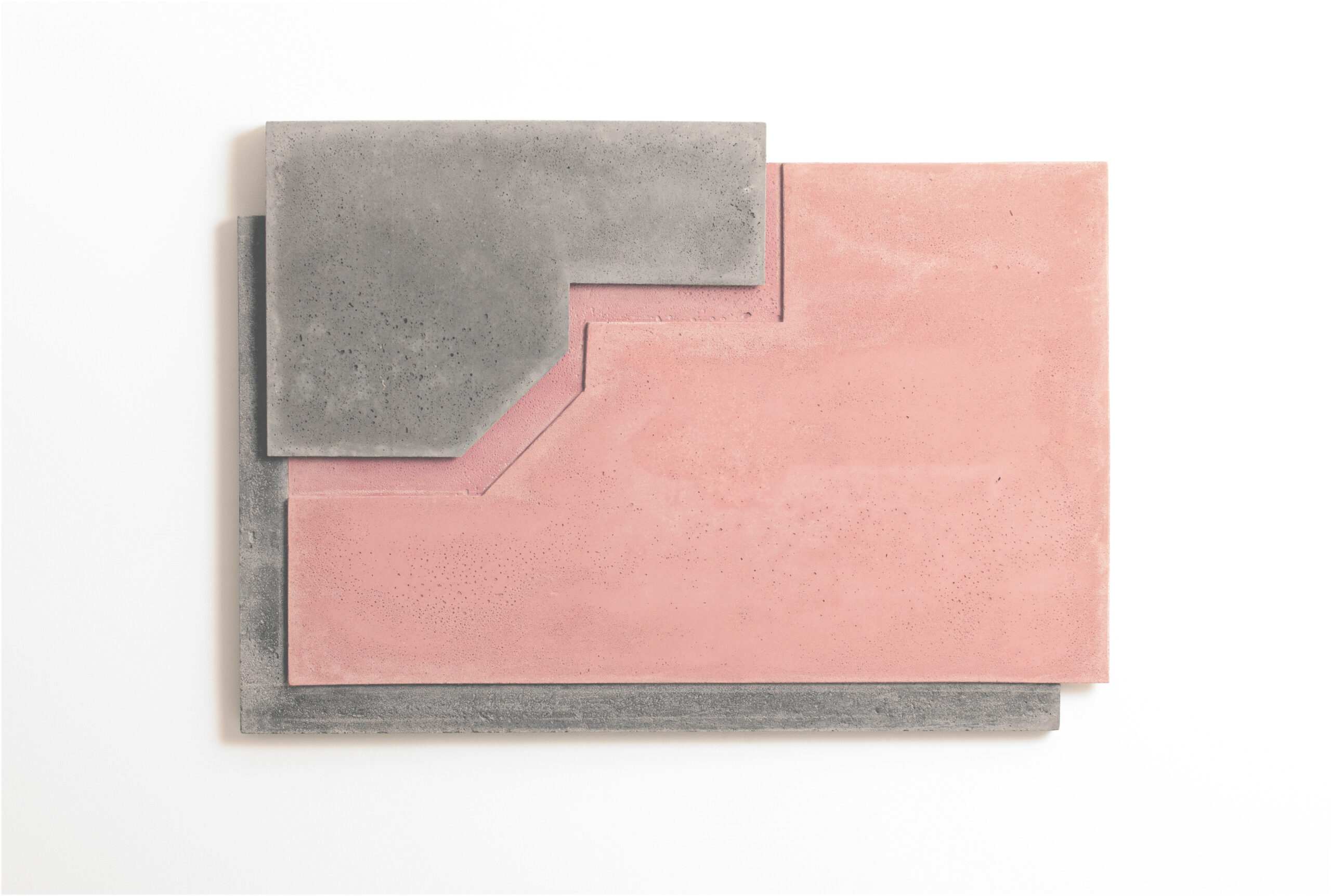 Addition XII | 2017 | Beton | 53 x 89  x  5 cm