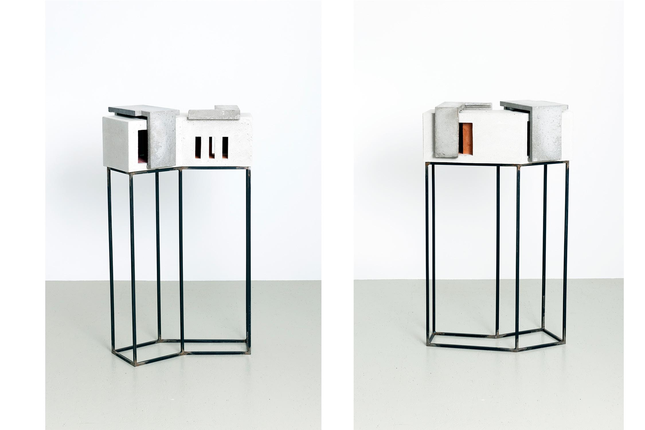 Espace IV | 2016 | Beton,Metall | 68 x 28 x 107 cm