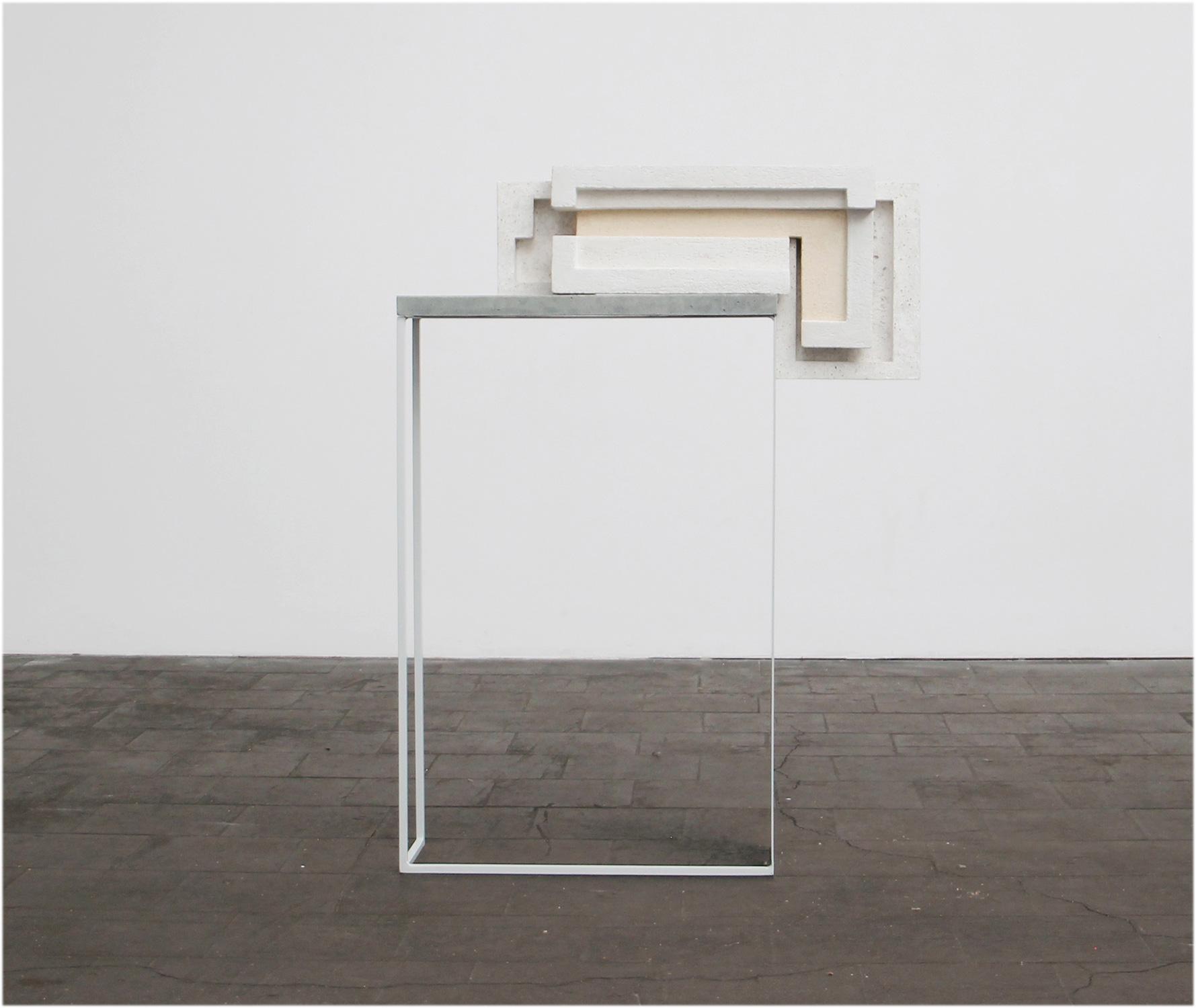 Espace|Surface 3 | 2017 | Steinzeug, Beton | 79 x 20 x 109 cm