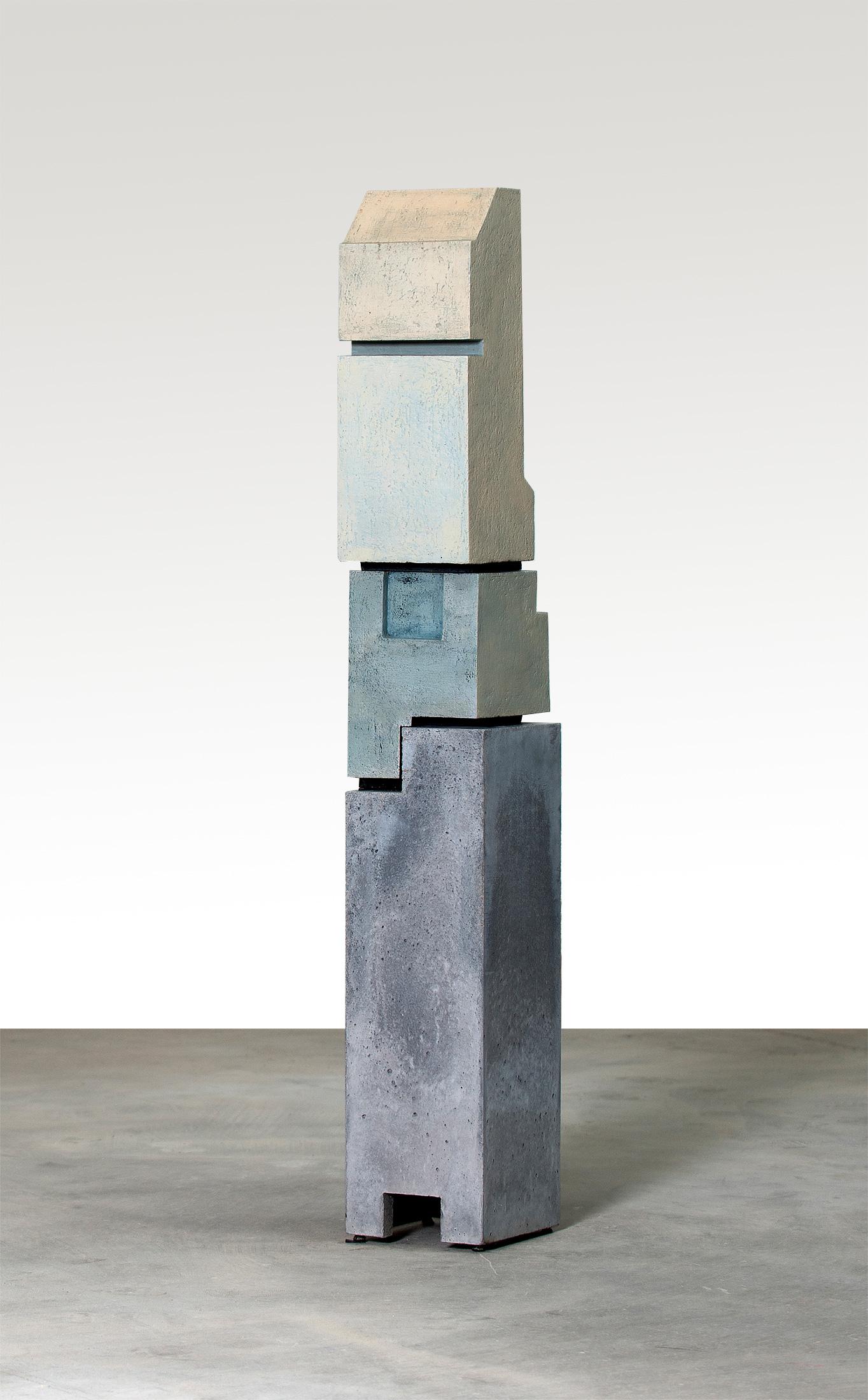 Silo 5 | 2013 | Steinzeug, Beton | 57 x 18 x 16 cm