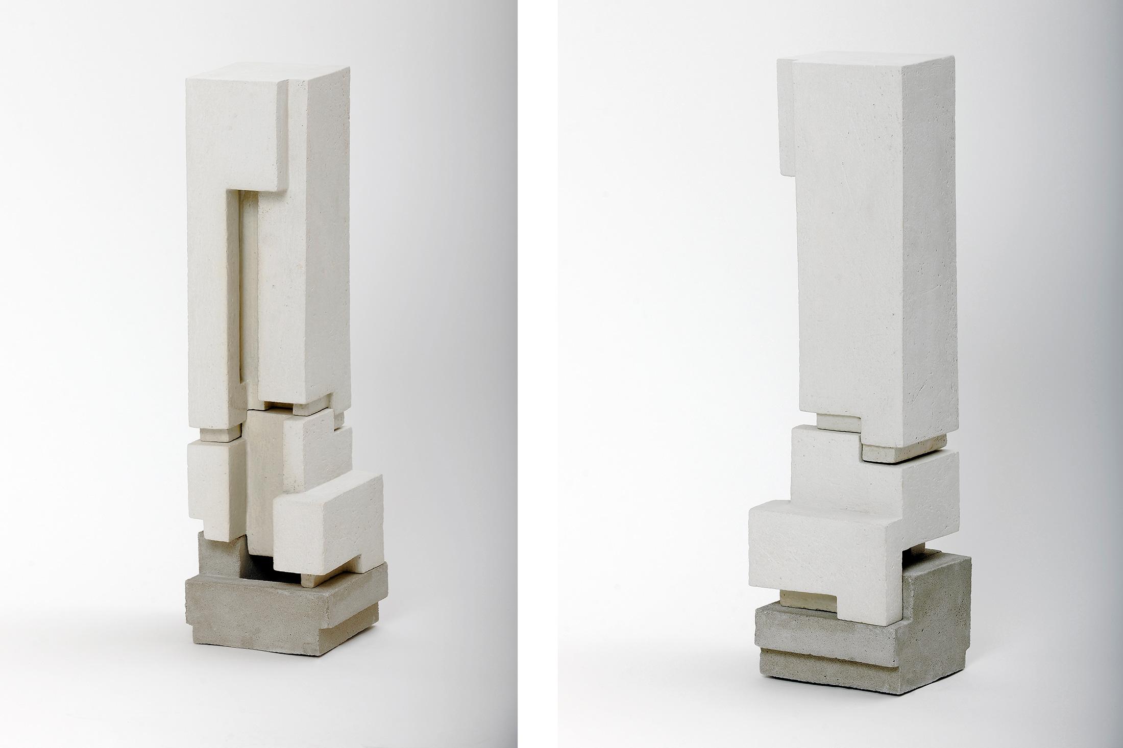 Silo 2 | 2012 | Steinzeug, Beton | 54  x 14 x 14 cm