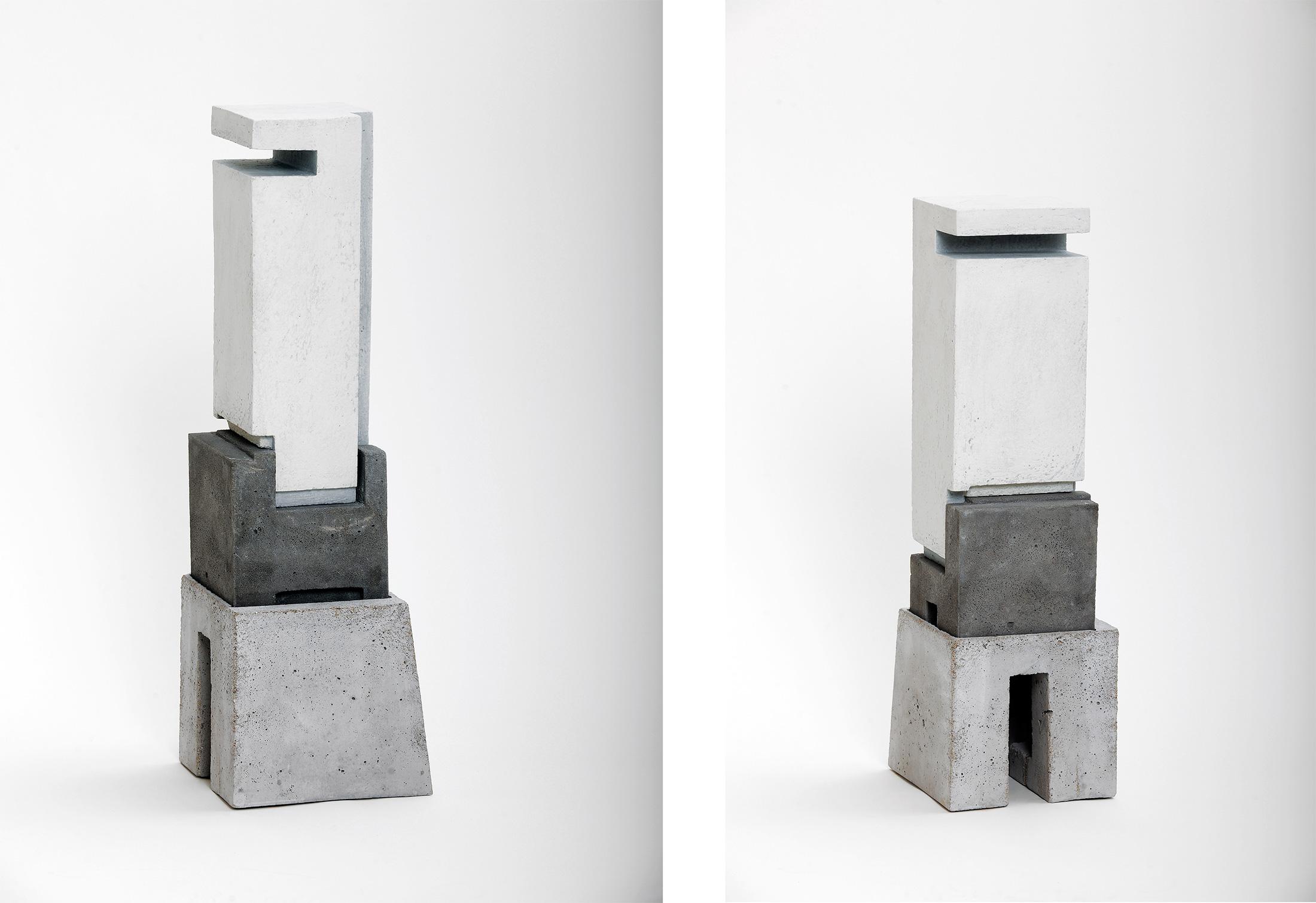 Silo 1 | 2012 | Steinzeug, Beton | 57 x 18 x 16 cm
