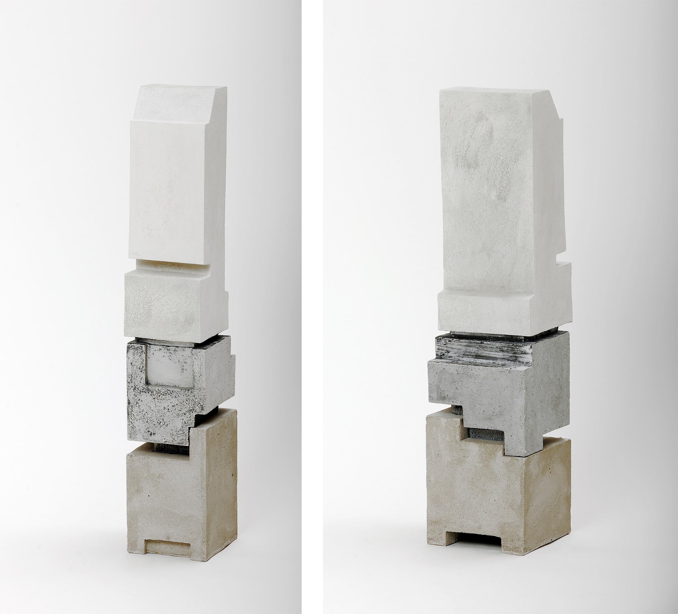Silo 4 | 2012 | Steinzeug,Beton | 63 x 14 x 14 cm